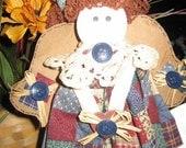 SALE Vintage Angel Rag Doll
