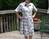 Vintage Serbin shirt dress