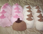 itty bitty boobie hat for newborns and toddlers