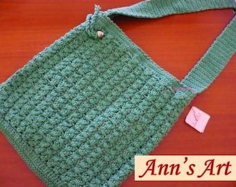 Spring handbag Green A
