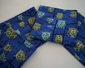 Woodland Owl Napkin Set of 4 Tammis Keefe Hoot Blue