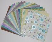 6x6 Floral KandCompany Print sheets