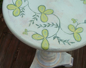 Hand Painted Furniture Vintage Table