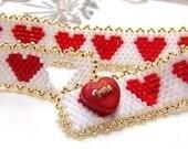 Valentine Red Heart Bracelet for your Love
