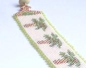 Palm Tree Resort Cuff Bracelet