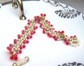 Romantic Cape Cod Cranberry Bracelet