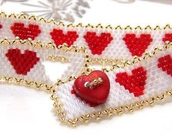 Valentine Red Heart Bracelet for your Love