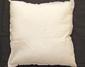 """14x14"""" Pillow Form, Pillow Insert, Filled Cushion, Throw Pillow Form, Fiberfill Pillow Insert, Hypoallergenic Polyfil Form, Bed Pillows"""