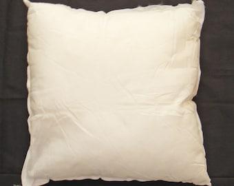 """18x18"""" Pillow Form, Pillow Insert, Filled Cushion, Throw Pillow Form, Fiberfill Pillow Insert, Hypoallergenic Polyfil Form, Bed Pillows"""