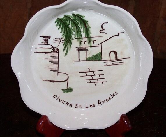 Vintage Los Angeles Decorative Pottery - Olvera Street