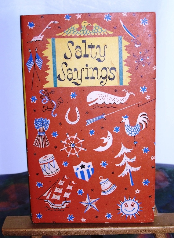 Salty Sayings Book - From Cynical Tongues - ReDuCeD