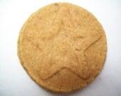 10  Almond Star Cookies