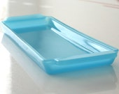 RESERVED - Blue Glass Pin Tray
