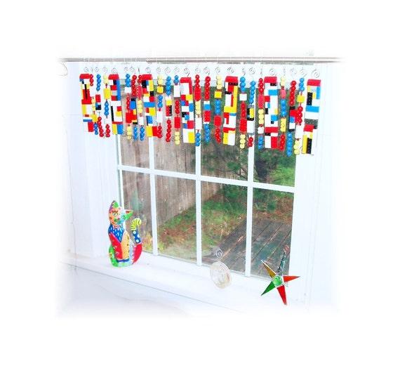Playroom Curtain Rod