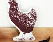 Hen plush decoration