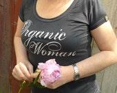 Organic Woman -organic t-shirt M