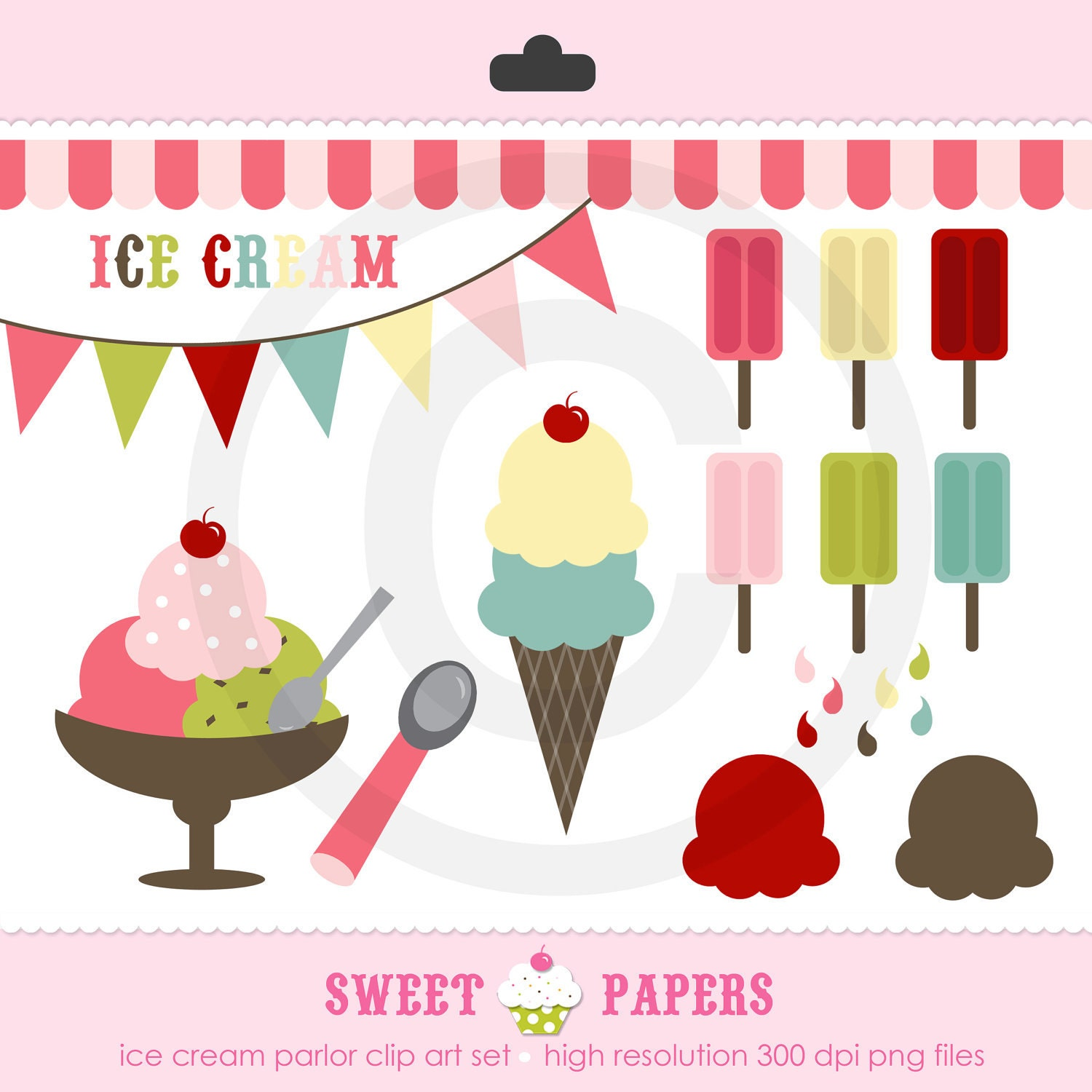 vintage ice cream clipart - photo #33