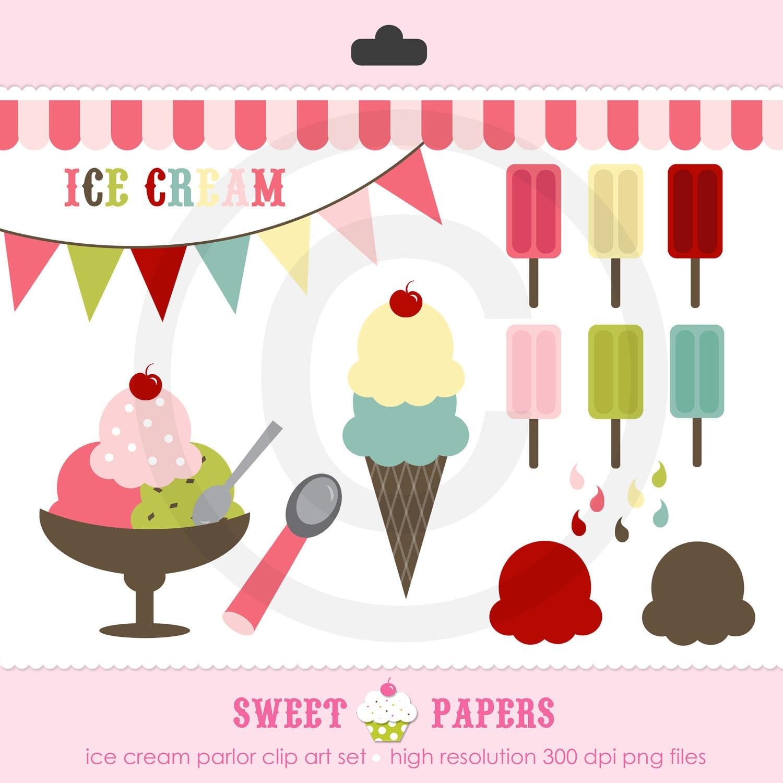 ice cream social clipart - photo #50