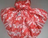 Furoshiki - Red Floral Bag
