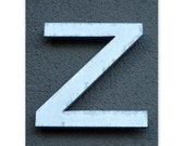 the letter z - a 5x7 print