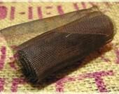 Rusty Tin Wire Net