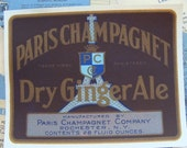 Gorgeous Antique 1930s  Paris Champagnet Label Lot