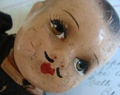 Rare Amazing Gorgeous  Damaged Composition Doll