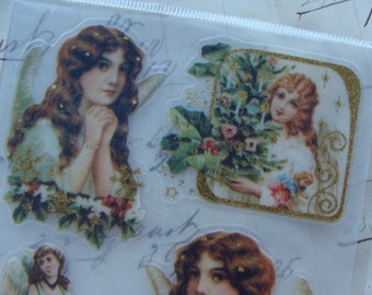 Very Victorian Christmas Stickers