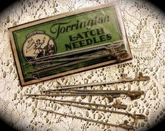 Antique Latch Hook Needles N0.563