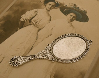 Lovely Victorian Mirror Stamping