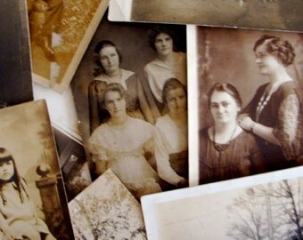 Antique Ten RPCs Photo Lot 16