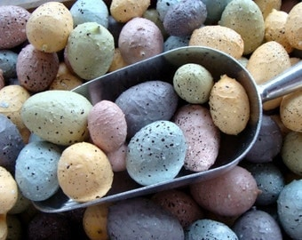 Easter Eggs Gorgeous Farmhouse Shabby Chic Speckled Easter Eggs