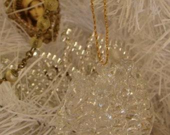 Luxurious Crystal Heart Ornaments