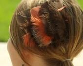 Branna feather head piece