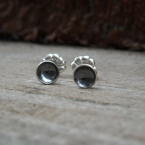Mini Dome Studs - Oxidized