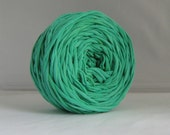 T Shirt Yarn Hand Dyed- Verdant Green 60 Yards
