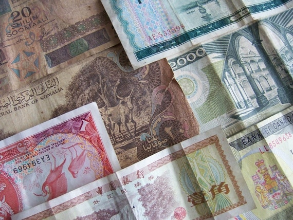 Foreign currency sales