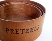 Vintage Nesting Snack Bowls by Styson