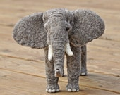 Elephant Sculpture: OOAK               /PRICE REDUCED/