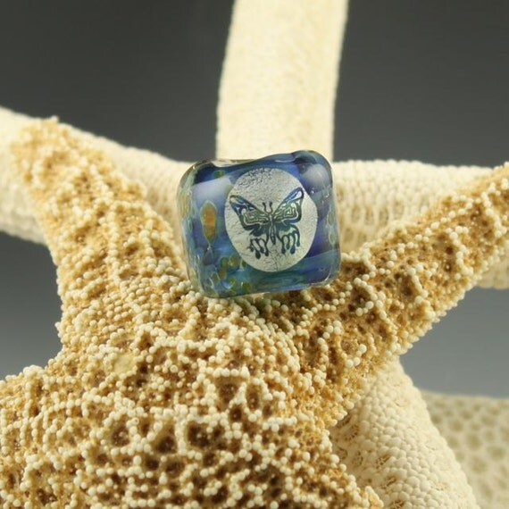 butterfly dichro dread bead