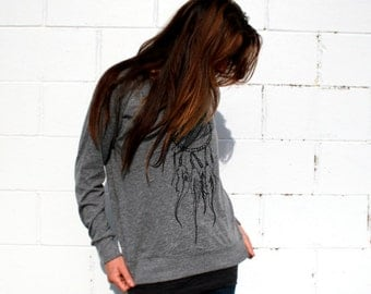 Dreamweaver and Feathers Grey Slouchy Shirt