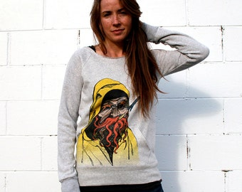 Fisherman Flashdance Sweatshirt NOTE: this item is now ivory