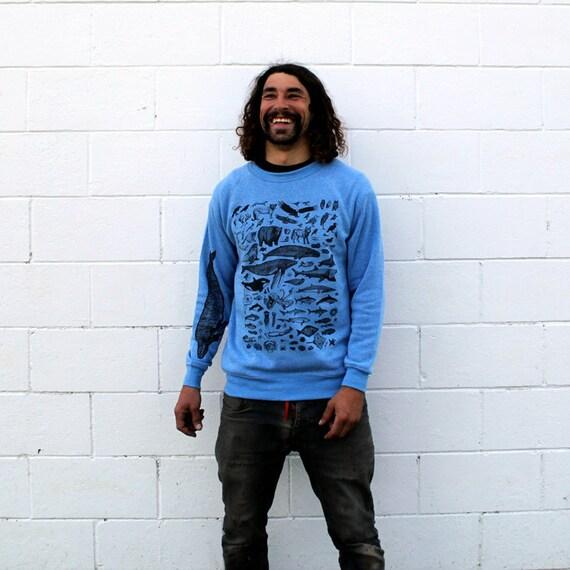 Species of Ucluelet Blue Crewneck Sweatshirt