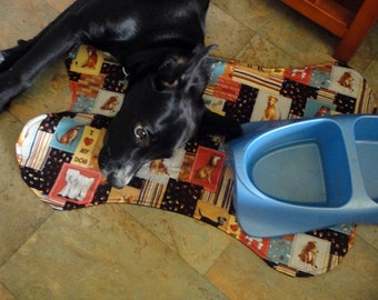 Pet Mat Dog Placement - love my dog