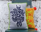 PDF Knitting Pattern-Cuckoo Clock Pillow