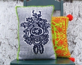 PDF Knitting Pattern-Cuckoo Clock Pillow