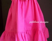 PICK Your COLOR Dress in your choice of size 6m-9m, 9m-12m, 12-18m,18-24mos OR 2t,