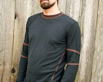 SALE....Ridgeline LS Shirt / Hemp and Organic Cotton