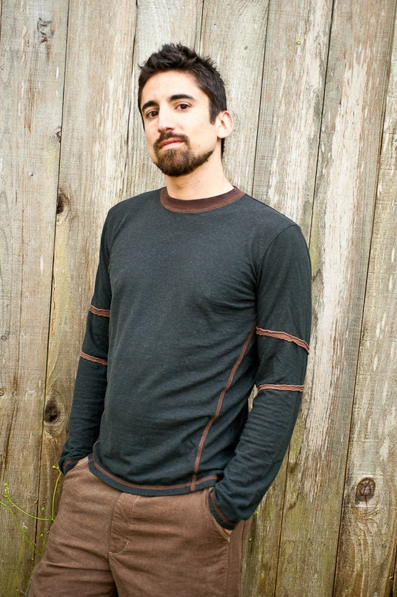 SALE....Ridgeline LS Shirt / Hemp and Organic Cotton