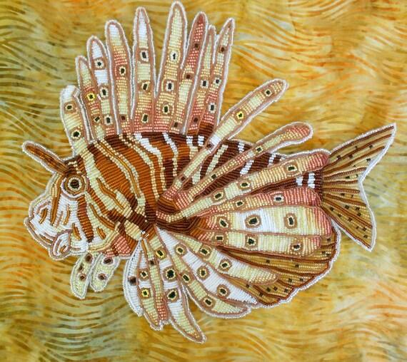 Seed Bead Lion Fish